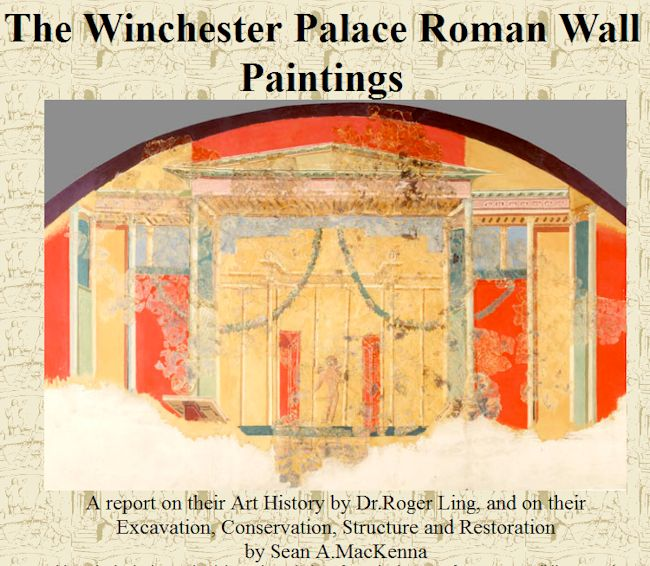 Archeurope: Roman Archaeology - The Winchester Palace Roman Wall ...